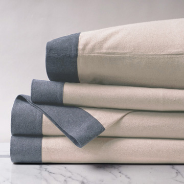Summit Sand w/border Sheet Set