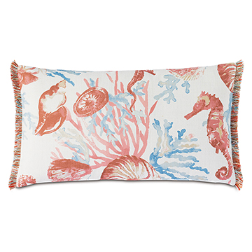 BIMINI CORAL REEF DECORATIVE PILLOW