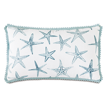 BIMINI BUTTERFLY PLEAT DECORATIVE PILLOW