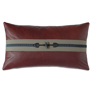 KILBOURN TOGGLE DECORATIVE PILLOW
