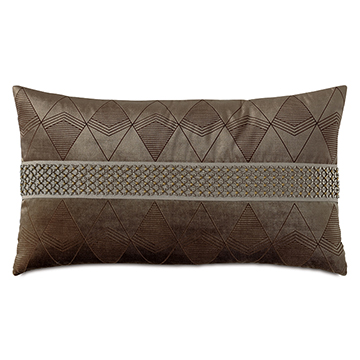 SILVIO LASERCUT DECORATIVE PILLOW