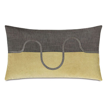 ZEPHYR COLOR BLOCK DECORATIVE PILLOW