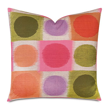 Flossie Rainbow Decorative Pillow