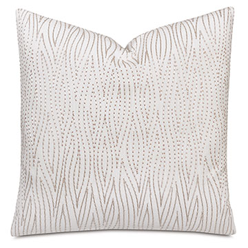 Altair Faux Bois Decorative Pillow in Blush