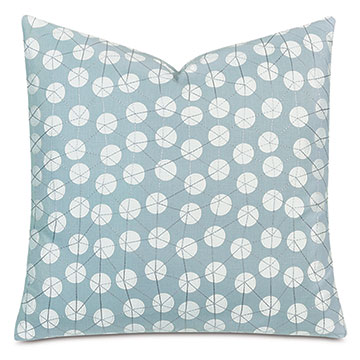 OLLIE DECORATIVE PILLOW IN SPA