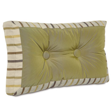 FREDA CHARTREUSE MITERED & TUFTED