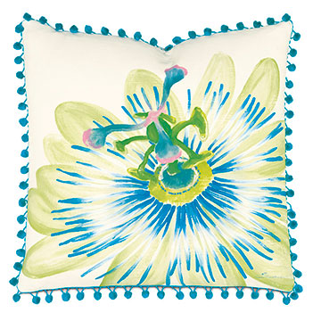 Passion Flower hand-painted