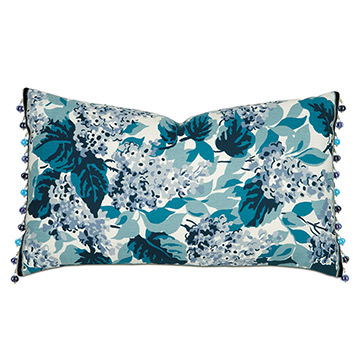 LORLAI TEAL WITH BEADED TRIM