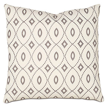 Midnight Poppy Dec Pillow A
