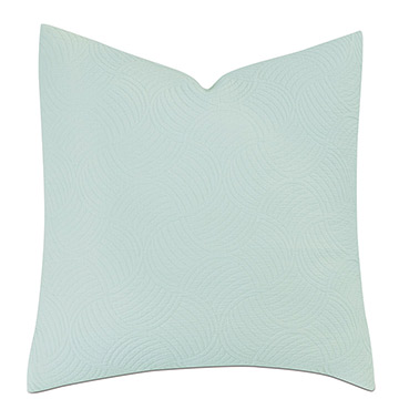 HONEYDEW MATELASSE EURO SHAM IN MINT