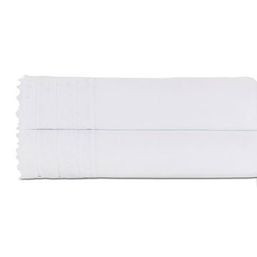 Harper White Flat Sheet