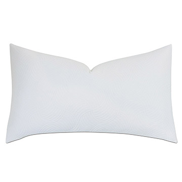HONEYDEW MATELASSE KING SHAM IN WHITE