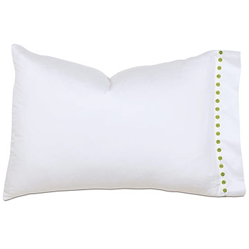 TIVOLI LIME PILLOWCASE