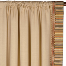 FOLLY SAND CURTAIN PANEL LEFT