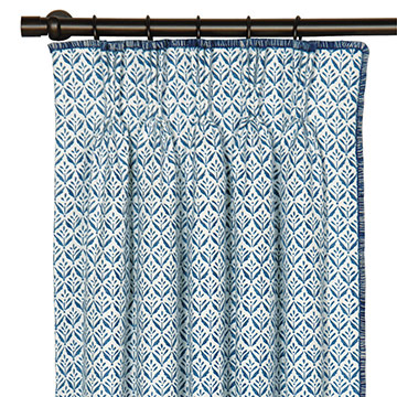 KARI IRIS CURTAIN PANEL LEFT