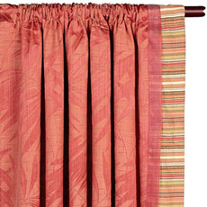 SANIBEL CURTAIN PANEL LEFT