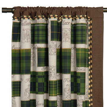 MACCALLUM CURTAIN PANEL LEFT