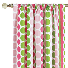 AUDREY SPRING CURTAIN PANEL LEFT
