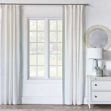 Breeze Shell Curtain Panel Left