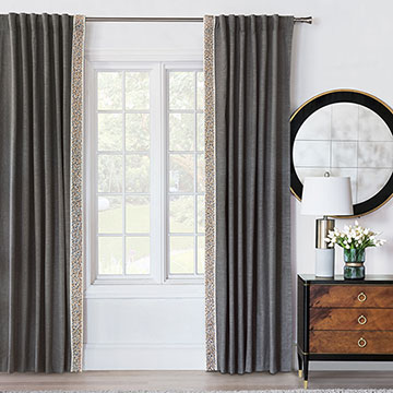 Indochine Curtain Panel Left