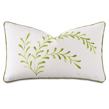 DUBLIN HANDPAINTED DECORATIVE PILLOW