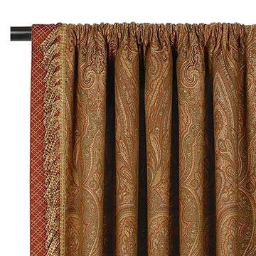 GLENWOOD CURTAIN PANEL RIGHT