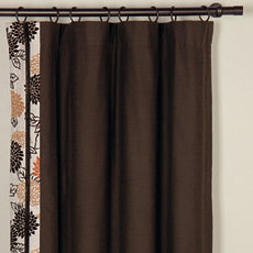 KIM TOFFEE CURTAIN PANEL RIGHT