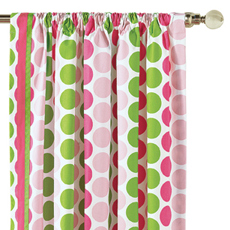 AUDREY SPRING CURTAIN PANEL RIGHT