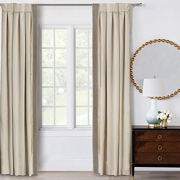 SILVIO BEADED CURTAIN PANEL RIGHT