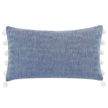CASTAWAY BALL TRIM DECORATIVE PILLOW