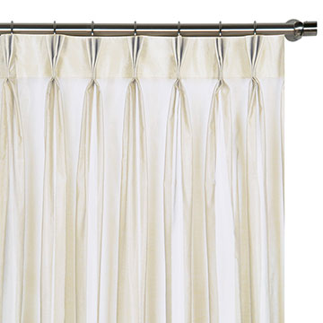 AMBIANCE SNOW CURTAIN PANEL