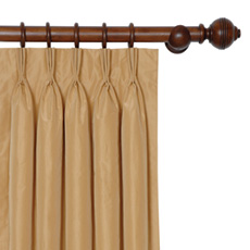 FREDA GOLD CURTAIN PANEL