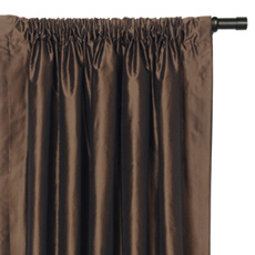 FREDA CHOCOLATE CURTAIN PANEL
