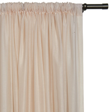 PALAPA SHELL CURTAIN PANEL