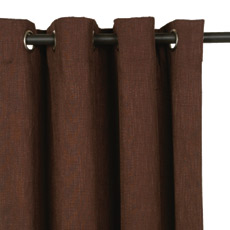 HABERDASH CHESTNUT CURTAIN PANEL