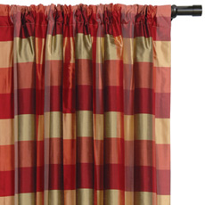 BECKFORD MELON CURTAIN PANEL
