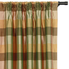BECKFORD ANTIQUE CURTAIN PANEL