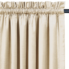 LUCERNE IVORY CURTAIN PANEL