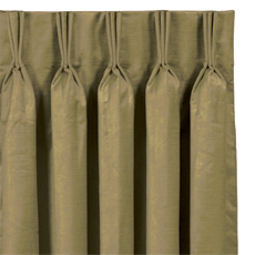 LUCERNE OLIVE CURTAIN PANEL