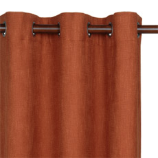 HABERDASH CHILI CURTAIN PANEL