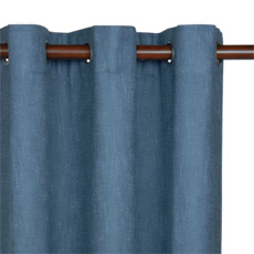 HABERDASH COPEN CURTAIN PANEL