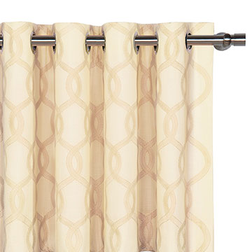 Gresham Cream Curtain Panel