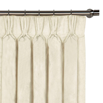 Nellis Ivory Curtain Panel