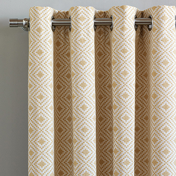 Cyrus Straw Curtain Panel