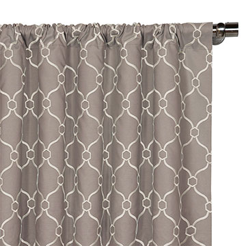Theodore Buff Curtain Panel