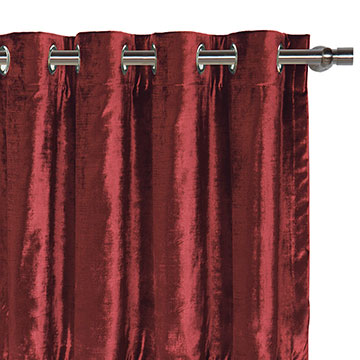 Winchester Cabernet Curtain Panel