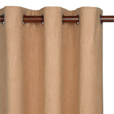 HABERDASH CINNAMON CURTAIN PANEL