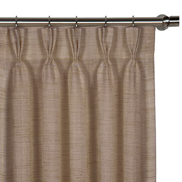 Pershing Sand Curtain Panel