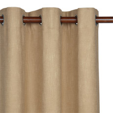 HABERDASH LINEN CURTAIN PANEL