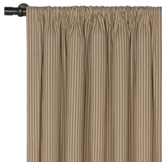 HEIRLOOM TOBACCO CURTAIN PANEL